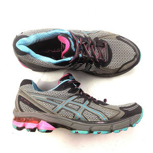 Asics Shoes - ASICS GT-2170 Women's Blue Pink Gray Gel T2561N